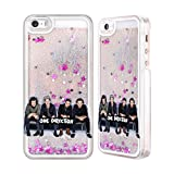 iphone 5 cases one direction - Official One Direction GP3 Group Photos Silver Liquid Glitter Case Cover for Apple iPhone 5 / 5s / SE