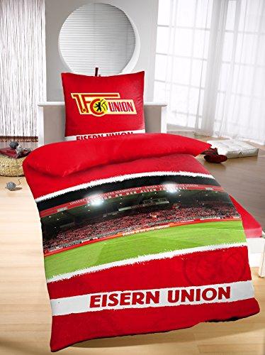 1 FC UNION Berlin Bettw/äsche Metall
