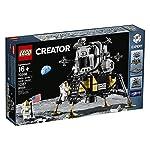 LEGO Apollo 11 Creator Expert NASA Lunar Lander 10266 Building Kit, New 2020 (1,087 Pieces)