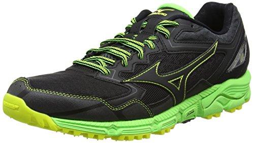 Mizuno Wave Daichi 2 Hommes Chaussures De Course De Trail Noir