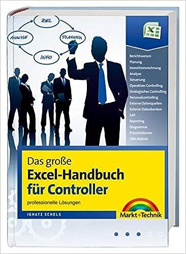 Das Große Excel Handbuch Für Controller Umfangreiche Cd Mit
