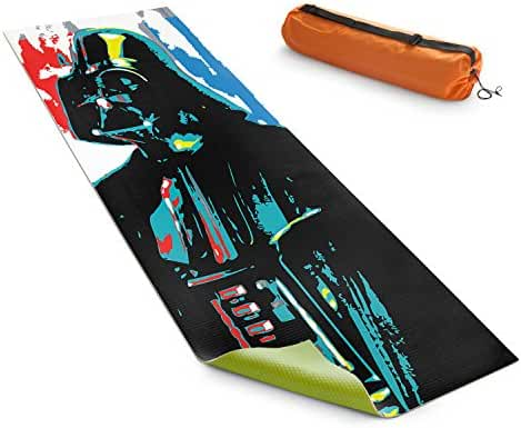 DiaNoche Yoga Mats by Ty Jeter Darth Vader