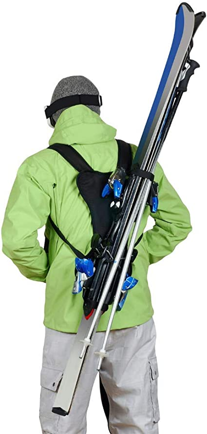 Wantalis Skiback Porte-skis et b/âtons Noir