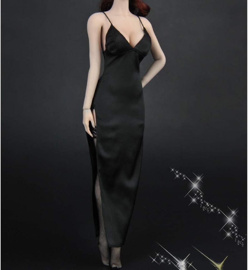 "1//6 V profond robe longue bas Set Pour 12/"" TBL PHICEN Hot Toys figure féminine"