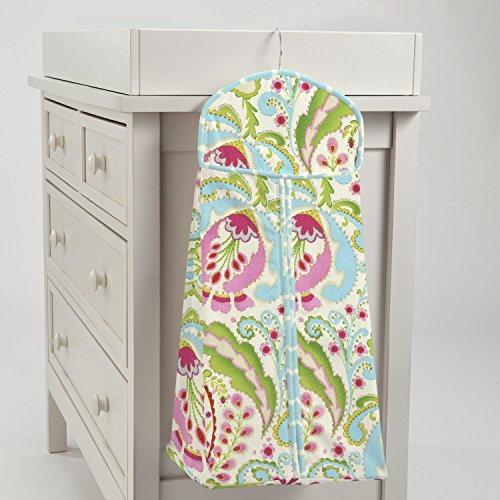 Carousel Designs Kumari Garden Diaper Stacker by Carousel Designs