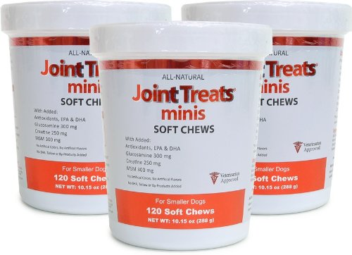 3 Pack Joint Treats MINIS (360 Soft Chews), My Pet Supplies