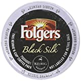 Folgers Gourmet Selections Black Silk Coffee K-Cups,Pack of 96