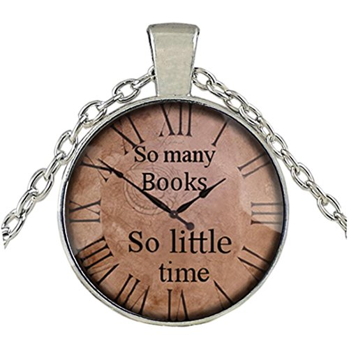 Round Medical Pendant - Elogoog Women Jewelry Vintage Clock Big Round Glass Creative Necklace Chain Antique Delicate Watch Pendant (E)