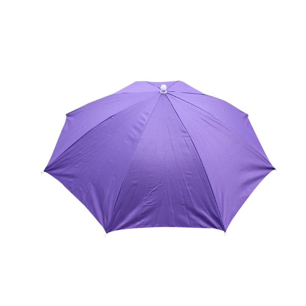 HOSOME Foldable Novelty Umbrella Sun Hat Golf Fishing Camping Umbrella