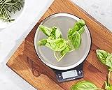 AmazonBasics Stainless Steel Digital Kitchen