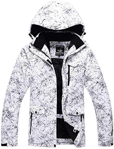 LilyAngel メンズや女性のスノーウェアスノーボードは防水防風透湿性アウトドアスポーツスキースーツのジャケットとベルトパンツを設定します。 (色 : 17, サイズ : M)