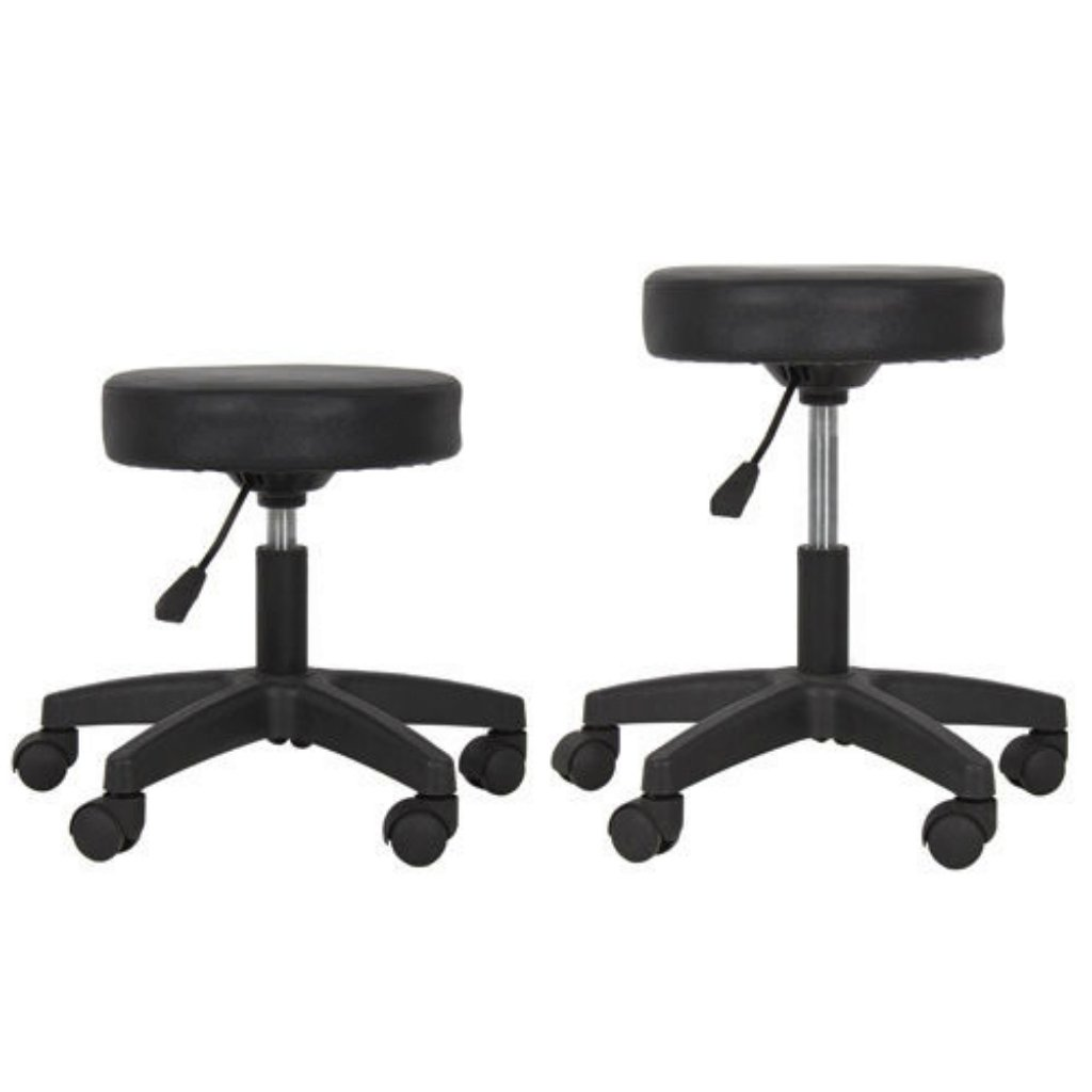 New Adjustable Hydraulic Chair Salon Tattoo Rolling Spa Facial Massage Swivel Stool/Black #246 by koonlert14shop (Image #3)