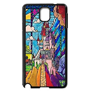 [H-DIY CASE] For Samsung Galaxy NOTE4 -Fairy Village & Castle-CASE-6