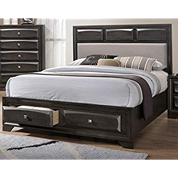 Amazon Com Esofastore Eastern King Size Bed Unique Padded