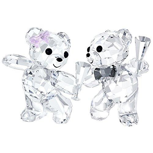Swarovski Kris Bear Let's Celebrate Figurines - Kris Bear