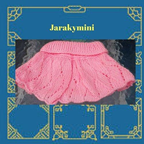 c93291a0b9074 Jupe rose bébés filles laine tricot fait main