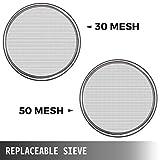 VBENLEM Automatic Sieve Shaker 30 Mesh & 50 Mesh