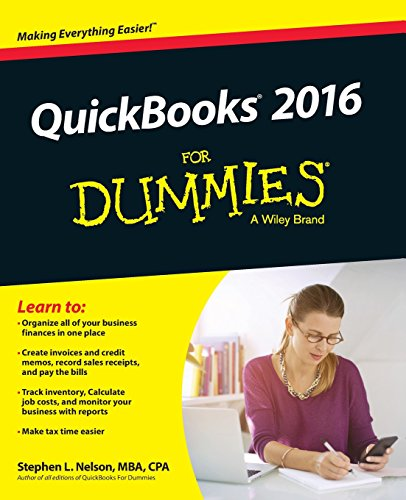 QuickBooks 2016 For Dummies (Quickbooks for Dummies)