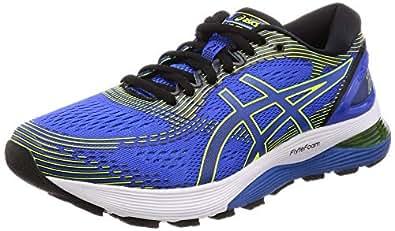 Asics Gel-Nimbus 21, Zapatillas de Running para Hombre, Azul (Illusion Blue/Black 400), 39 EU