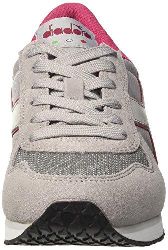 Sneakers Gris Diadora Basses run K grey W Violet Femme ash FxUZwTpqU