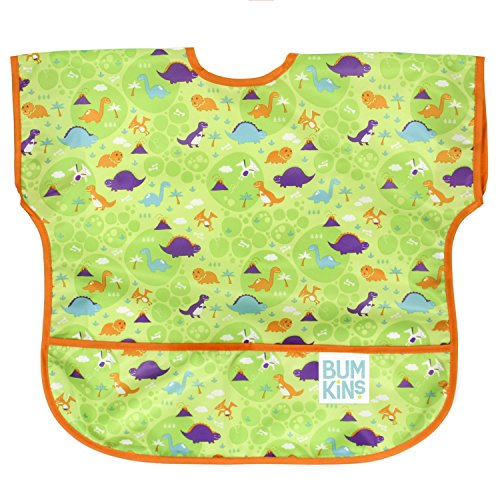 Bumkins Waterproof Junior Bib, Dinos (1-3 Years) by Bumkins (Image #6)