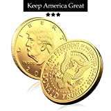 Kortes 5 Pack Donald Trump Coin 2017 2018 2019 2020 2021 Commemorative Novelty Coin Patriots Collection Gifts 45th President of The United States