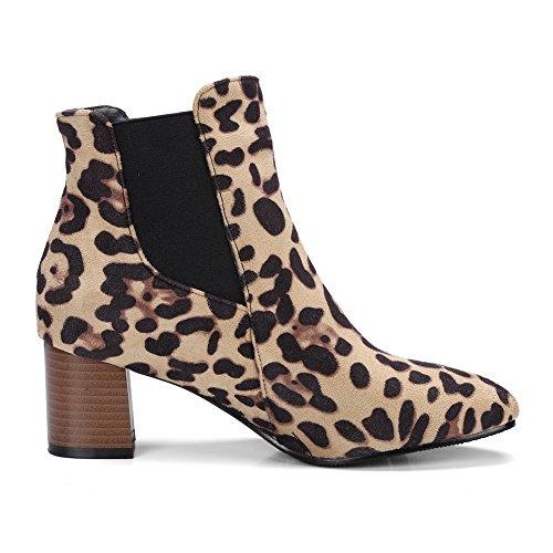 con Sandali Leopard Zeppa 36 Donna SXC02664 EU AdeeSu U8qB5wZO