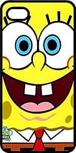 Spongebob Squarepants Black Rubber Case for Apple iPhone 4 or iPhone 4s