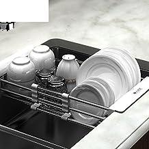 Sink drain rack kitchen racks stainless steel retractable bowl rack sink drain basket-A