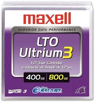 Maxell Lto Ultrium 3 Speichermedium 400 800gb Computer Zubehör