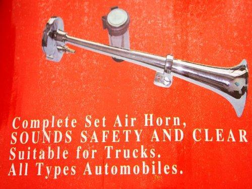 Signalhorn, Bootshorn, LKW-Horn vercromt SEHR LAUT: Amazon.de: Auto