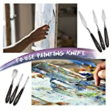 Young4us 10-Piece Painting Knife Set, Stainless