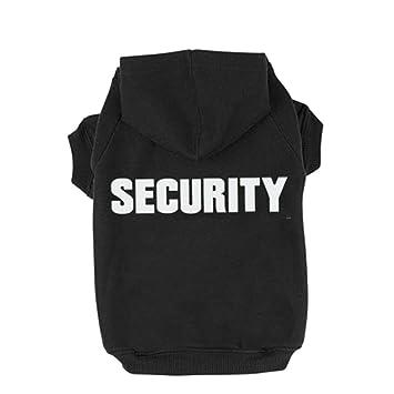 bingpet ba1002 - 1 patrones de seguridad Impreso perrito Pet sudadera con capucha perro ropa: Amazon.es: Productos para mascotas