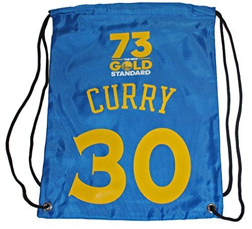 FOCO Golden State Warriors Curry S. #30 73 Wins Player Drawstring Backpack by FOCO