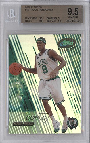 Rajon Rondo BGS GRADED 9.5 #26/1,025 (Basketball Card) 2006-07 eTopps - [Base] #16