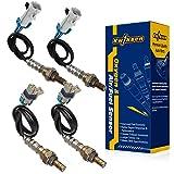 Kwiksen Heated Universal 4Pcs O2 Oxygen Sensor 1 Sensor 2 2008 2009 2010 2011 GMC Sierra 1500 2500 HD 3500 HD 234-4256 234-4668