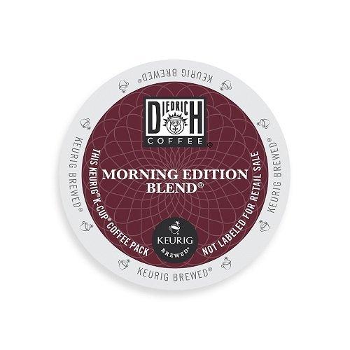 Diedrich K-cup (Diedrich Coffee K-Cup for Keurig Brewers, Medium Roast, Morning Edition Blend, K-Cup packs, 48-Count)
