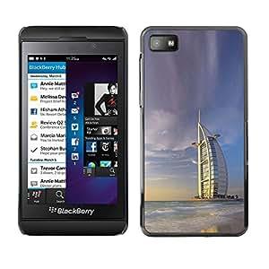 EJOY---Cubierta de la caja de protección la piel dura para el ** Blackberry Z10 ** --Burj Dubai