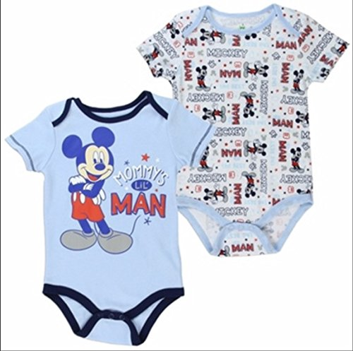 Baby Boy Mickey Mouse Creeper Set ()
