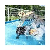 Oversized Heavy Duty Dog Outdoor Pool/Bathing Tub - Portable - 4 Sizes AvailableRectangular Frame Above Ground Baby Splash Pool (Size : 260 * 160 * 65cm)