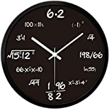 Room Hanging Wall Clock Pop Quiz Math Wall Clock For Enthusiasts Of Mathematics Home Decorative Time Clock