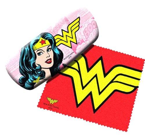 Wonder Woman Eyeglass Hard Case w/ Matching Lens Cloth