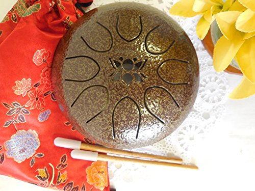Used, WuYou 7in OM sacred sound Steel Drum Tongue Drum UFO for sale  Delivered anywhere in Canada