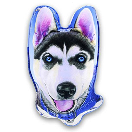 [Drawing/Sketch SIBERIAN HUSKY for Screen/Printed on Pillow 65 cm Dog Lover/Collection/ Creative Gift/Home] (Costume Design For Film Courses)