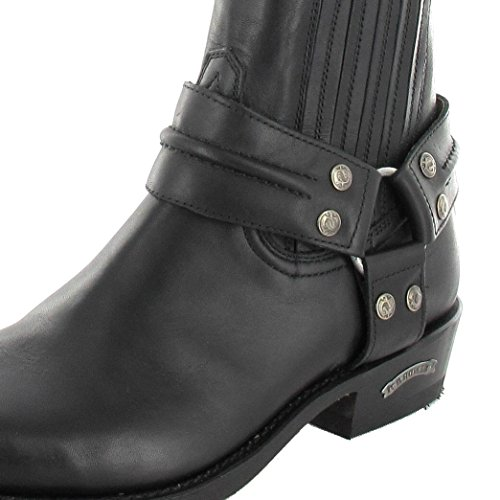 Boots different Sendra biker colours men's Boots 2746 made Negro Boots in ankle Ankle Black rwrXZx