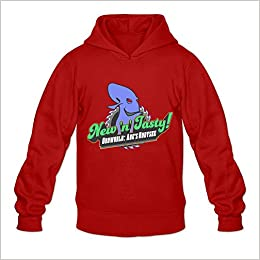 Oddworld New N Tasty Hot Topic 100 Cotton Red Long Sleeve