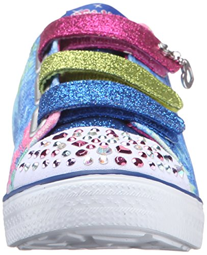 Blhp Me Twinkle Fille Silly Rose Bleu Baskets Foncé Basses Bleu Breeze Skechers 47wTqxST