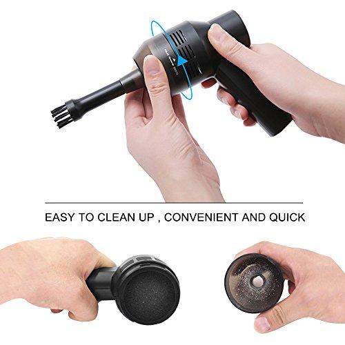 New Cordless Mini Computer Vacuum Portable Rechargeable