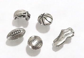 VOLLEYBALL Handmade Decorative Push Pin Thumb Tacks Set of 8 Sport Ball Toy