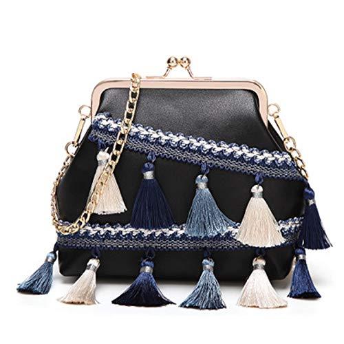 Shell Gland Femme Diagonale Sac ZHRUI Noir de élégant Mode beauté Style Sac Sac Palace épaule gBXqxtXH